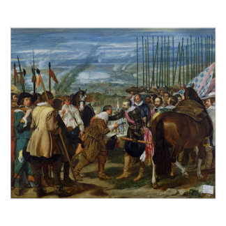 La entrega de Breda, 1625, c.1635 Póster