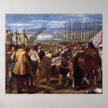 La entrega de Breda o de las lanzas por Velázquez Impresiones