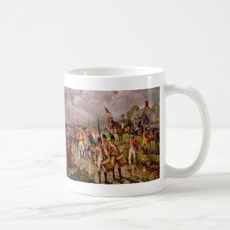 La entrega de Burgoyne en Saratoga de Percy Moran Tazas De Café