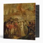 La entrega de los dos hijos de Tipu Sahib (1749-