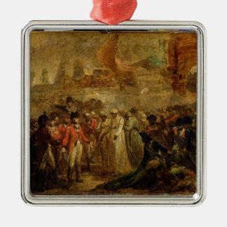 La entrega de los dos hijos de Tipu Sahib 1749- Ornaments Para Arbol De Navidad