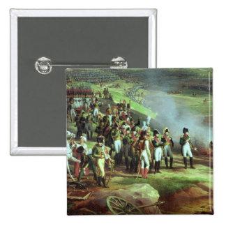 La entrega de Ulm, detalle de Napoleon, 1815 Pin Cuadrada 5 Cm