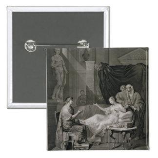 La entrevista de Augustus y de Cleopatra, grabada Pins