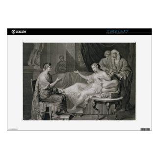 La entrevista de Augustus y de Cleopatra, grabada Portátil Skin