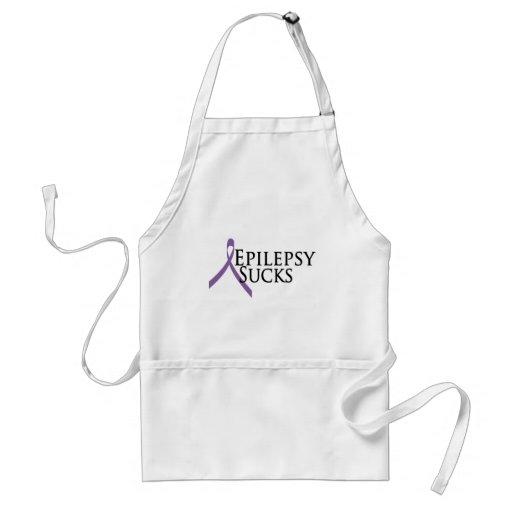 La epilepsia chupa delantal