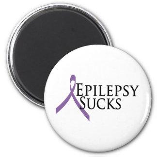 La epilepsia chupa imanes de nevera