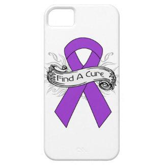 La epilepsia encuentra una cinta de la curación iPhone 5 Case-Mate cárcasas