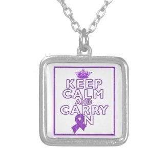 La epilepsia guarda calma y continúa colgantes