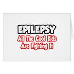 La epilepsia… todos los niños frescos lo está luch tarjeton