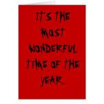 La época más maravillosa del año felicitacion