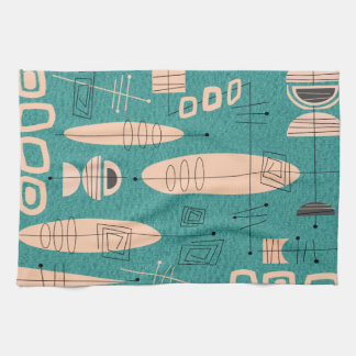 La era atómica inspiró el trullo del arte de los toalla