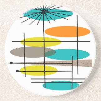 La era de Eames inspiró los regalos Posavasos Manualidades
