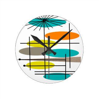 La era de Eames inspiró los regalos Reloj Redondo Mediano