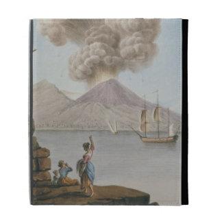 La erupción de Vesuvio, el lunes 9 de agosto de 17