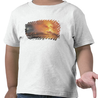 La erupción de Vesuvio Camiseta