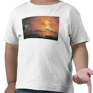 La erupción de Vesuvio Camisetas