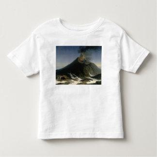 La erupción del Etna Playera De Bebé
