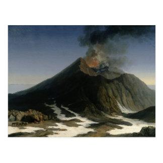 La erupción del Etna Postal