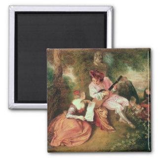 La escala del amor, 1715-18 iman de frigorífico