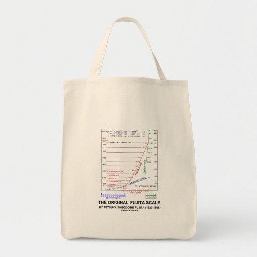 La escala original Tetsuya Theodore Fujita de Fuji Bolsa De Mano