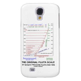 La escala original Tetsuya Theodore Fujita de Fuji