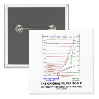 La escala original Tetsuya Theodore Fujita de Fuji Pin