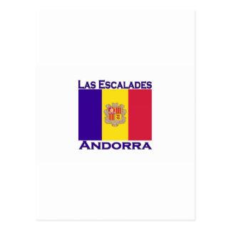 La Escalades, Andorra Postcard