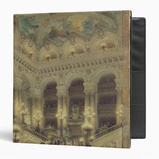 """La escalera de la ópera, 1877 carpeta 1 1/2"""""""