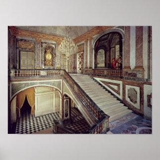 La escalera de la reina, c.1679 póster