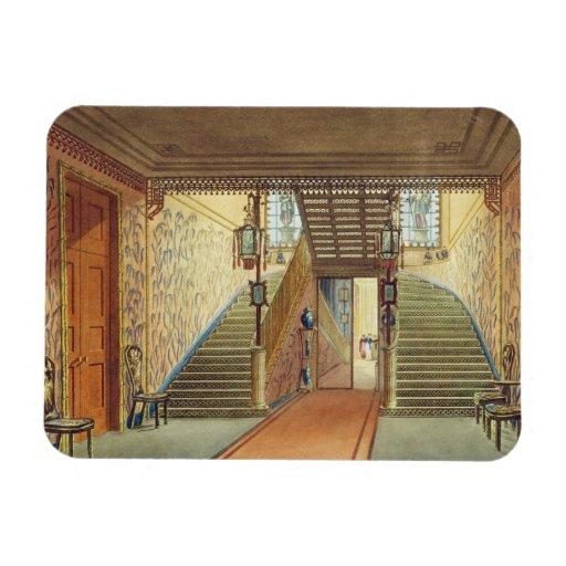 La escalera, de vistas del pabellón real, B Iman De Vinilo