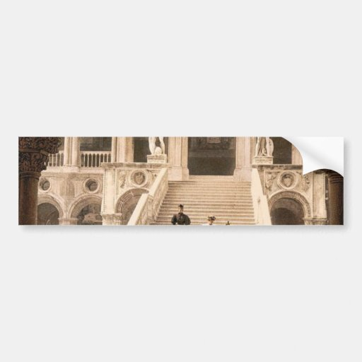 La escalera del gigante, classi de Venecia, Italia Pegatina Para Auto