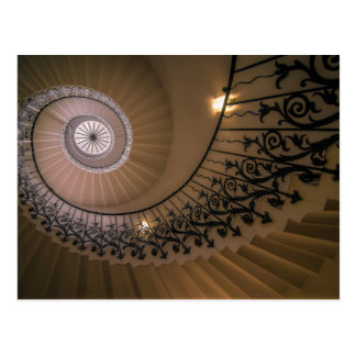 La escalera del tulipán, la casa de la reina en tarjetas postales