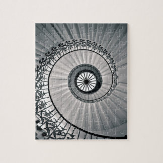 La escalera del tulipán, la casa Greenwich de la Puzzle Con Fotos