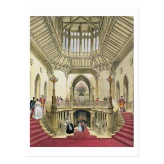 La escalera magnífica, castillo de Windsor, 'de un Tarjeta Postal