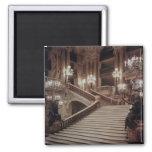 La escalera magnífica de la Ópera-Garnier Imán De Frigorífico