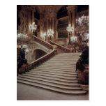 La escalera magnífica de la Ópera-Garnier Postal
