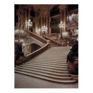 La escalera magnífica de la Ópera-Garnier Postales