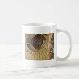 la escalera tazas de café