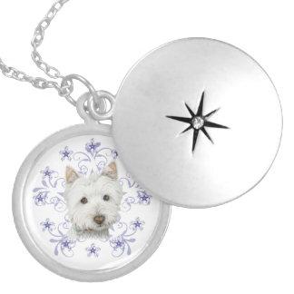 La escama linda del arte y de la nieve del perro d joyeria personalizada