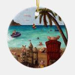 La escasez del tocino ornaments para arbol de navidad