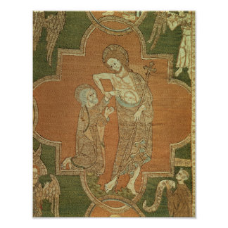 La escena a partir de la vida de Cristo, detalle d Póster