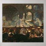 La escena del ballet de la ópera de Meyerbeer Póster