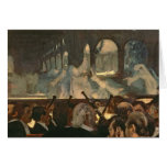 La escena del ballet de la ópera de Meyerbeer Tarjeta De Felicitación