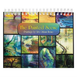 La escena pintada calendarios
