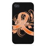 La esclerosis múltiple cree la cinta del Flourish iPhone 4/4S Carcasa