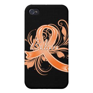 La esclerosis múltiple cree la cinta del Flourish iPhone 4 Carcasa