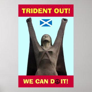 La escocés Pasionaria ningún poster de Trident