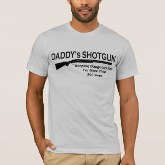 La escopeta del papá playera