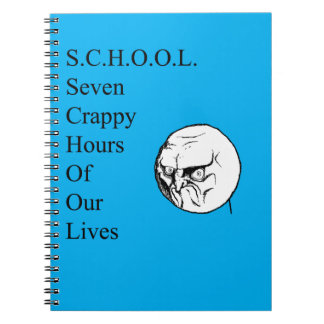 La escuela chupa el cuaderno