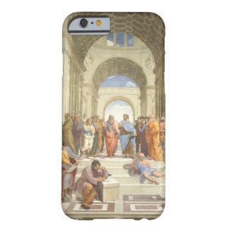 La escuela de Raphael de Atenas Funda Barely There iPhone 6